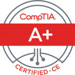 CompTIA A+ badge